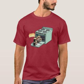 Ein im Ofen sein T-Stück T-Shirt