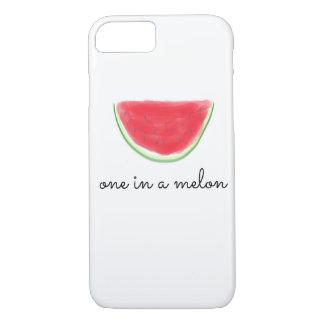 """""""Ein in einer Melone"""" iPhone Fall iPhone 8/7 Hülle"""