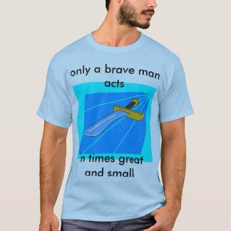Ein inspirierendes Messer T-Shirt