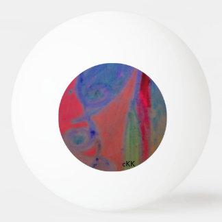 Ein interessanter Ball pong Klingeln mit 3 Sternen Ping-Pong Ball