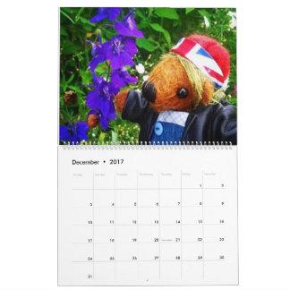 Ein Jahr des Frühjahrs Kalender
