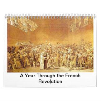 Ein Jahr durch die Französische Revolution Abreißkalender