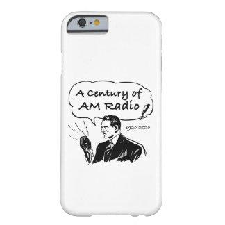 Ein Jahrhundert von morgens-Radio Barely There iPhone 6 Hülle