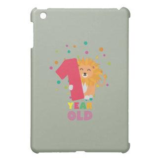 Ein Jährig-erstes Geburtstags-Party Zebsh iPad Mini Hülle