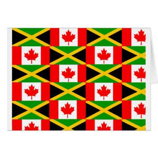 ein jamaikanischer Kanadier Karte