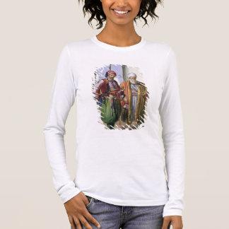 Ein Janissary und ein Kaufmann in Kairo, Langarm T-Shirt