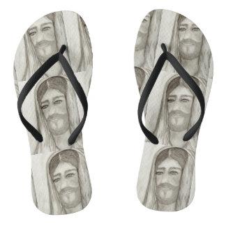 Ein Jesus Flip Flops