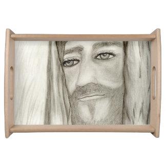 Ein Jesus Tablett