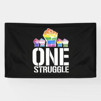 Ein Kampf - LGBTQ - LGBTQ berichtigt - - Banner