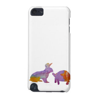 Ein Kaninchen und eine Schildkröte iPod Touch 5G Hülle