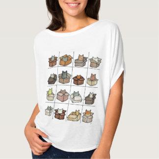 Ein Kasten für jeden Katzen-T - Shirt