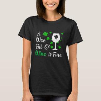 Ein kleines Stückchen O Wein-Shirt T-Shirt