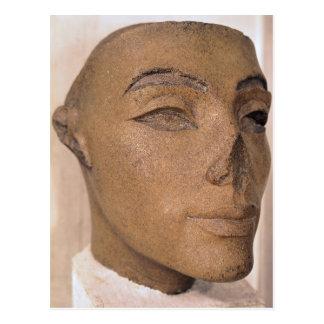 Ein königlicher Kopf, vielleicht von Nefertiti, Postkarte