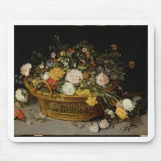 Ein Korb der Blumen - Jan. Brueghel das jüngere Mousepad