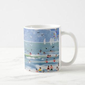 Ein kornischer Strand Kaffeetasse
