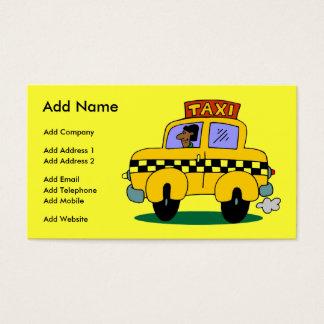 Ein kundengerechtes Taxi-Geschäft/eine Visitenkarte