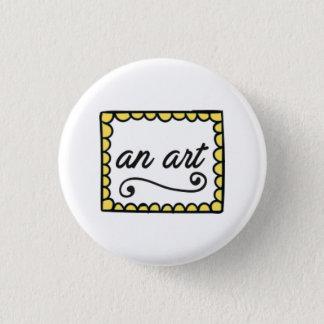 Ein Kunst-Knopf Runder Button 3,2 Cm