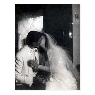 Ein Kuss am Tag Postkarten