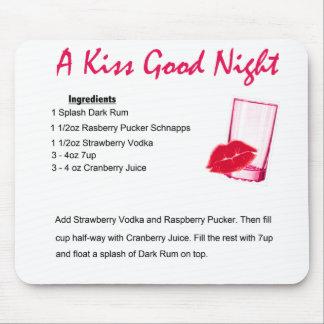 ein Kuss gute Nacht 3 Mousepad