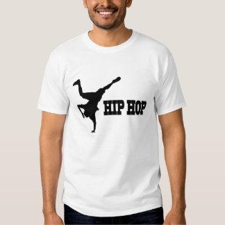Ein lässiger weißer T - Shirt für HipHop Loverzzz