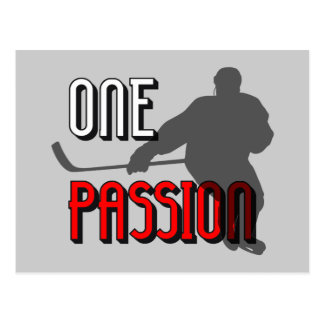Ein Leidenschafts-Hockey Postkarte