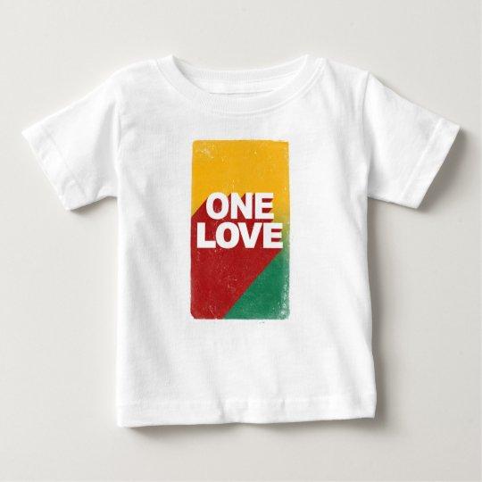 Ein Liebe-Plakat Baby T-shirt