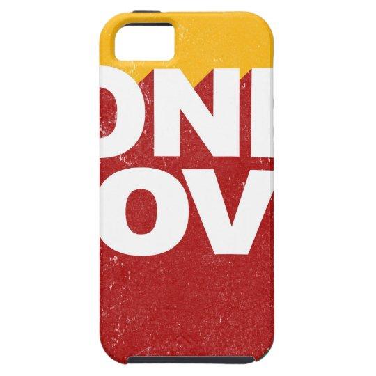 Ein Liebe-Plakat iPhone 5 Hülle