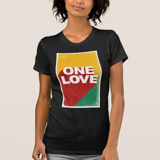 Ein Liebe-Plakat T-Shirt