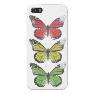 Ein Liebe Rasta Schmetterling Iphone 5 Fall iPhone 5 Schutzhülle