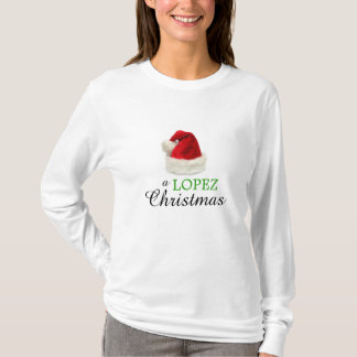 Ein LOPEZ-Weihnachten T-Shirt