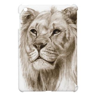 Ein Löwe - ohne den Stolz, der Skizze-Kunst iPad Mini Hülle
