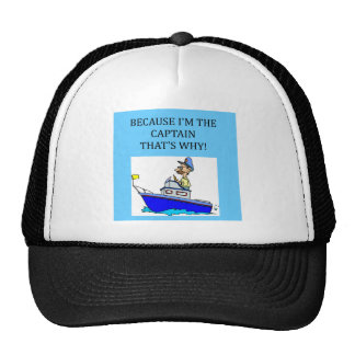 ein lustiger Bootfahrtkapitänwitz Netzkappen