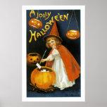 Ein lustiges Halloween Plakate