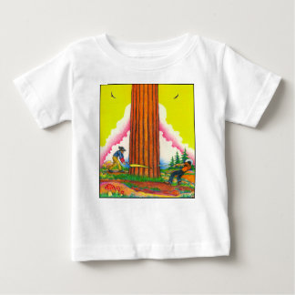 Ein-MÄCHTIG-BAUm-Seite 8 Vorlage Baby T-shirt