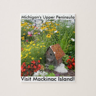 Ein Mackinac Insel-Blumen-Garten Puzzle
