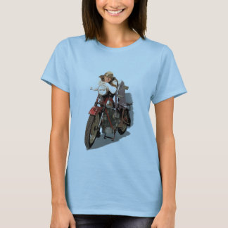 Ein Mädchen auf Nimbus T-Shirt