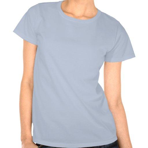 Ein Mädchen auf Nimbus T-Shirts