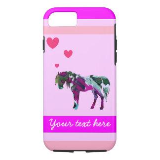 Ein Mädchen-Pony iPhone 7 Fall iPhone 8/7 Hülle