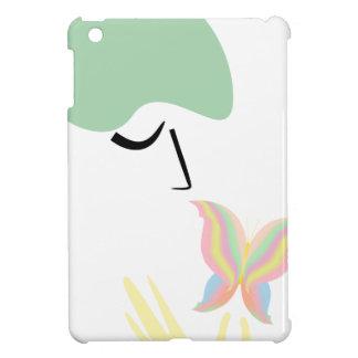 Ein Mädchen und ein Schmetterling iPad Mini Hülle