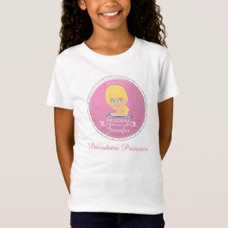 Ein Mädchen von PASADENA-Logo T-Shirt