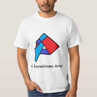 Ein manchmal Armee-Band-Shirt T-Shirt