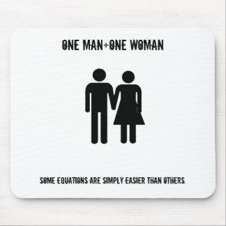 Ein Mann+Eine Frau Mousepads