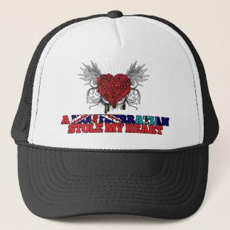 Ein Montserratian stahl mein Herz Truckerkappe