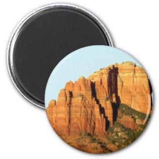 ein Monumentfelsen Runder Magnet 5,1 Cm