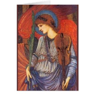 Ein musikalischer Engel Karte