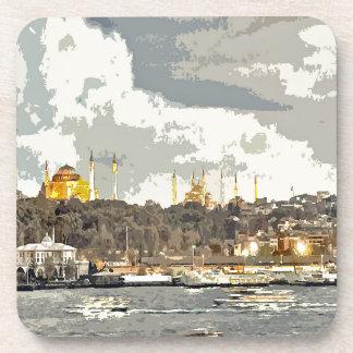Ein Nachmittag in Istanbul Getränkeuntersetzer