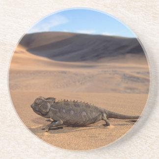Ein Namaqua Chamäleongehen Sandstein Untersetzer