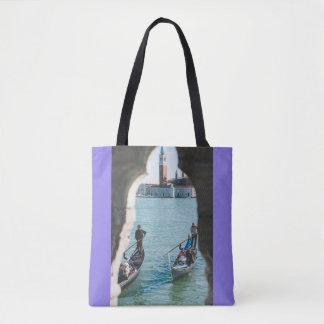 Ein natürlicher Rahmen in Venedig Tasche