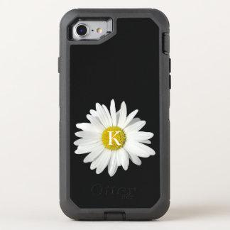 Ein neues Gänseblümchen und Initiale OtterBox Defender iPhone 8/7 Hülle