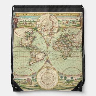 Ein neues mapp der Welt - Atlas Turnbeutel